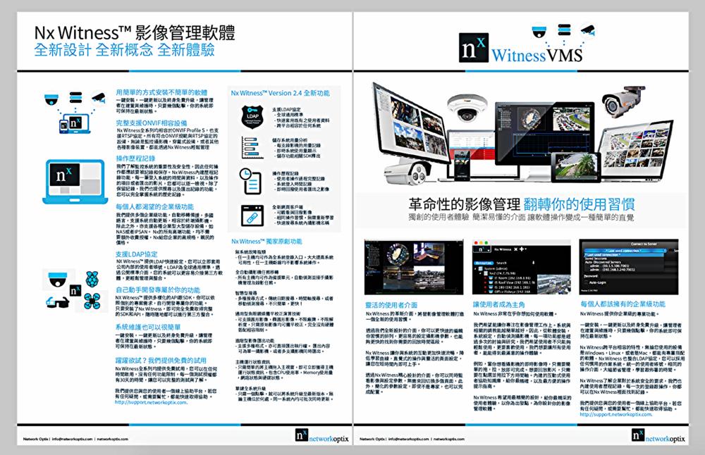Nx Witness V2.5 產品介紹