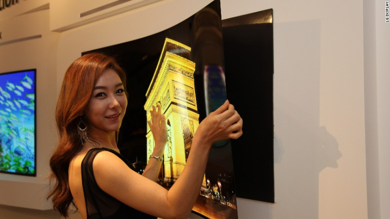 LG's 'Wallpaper' TV