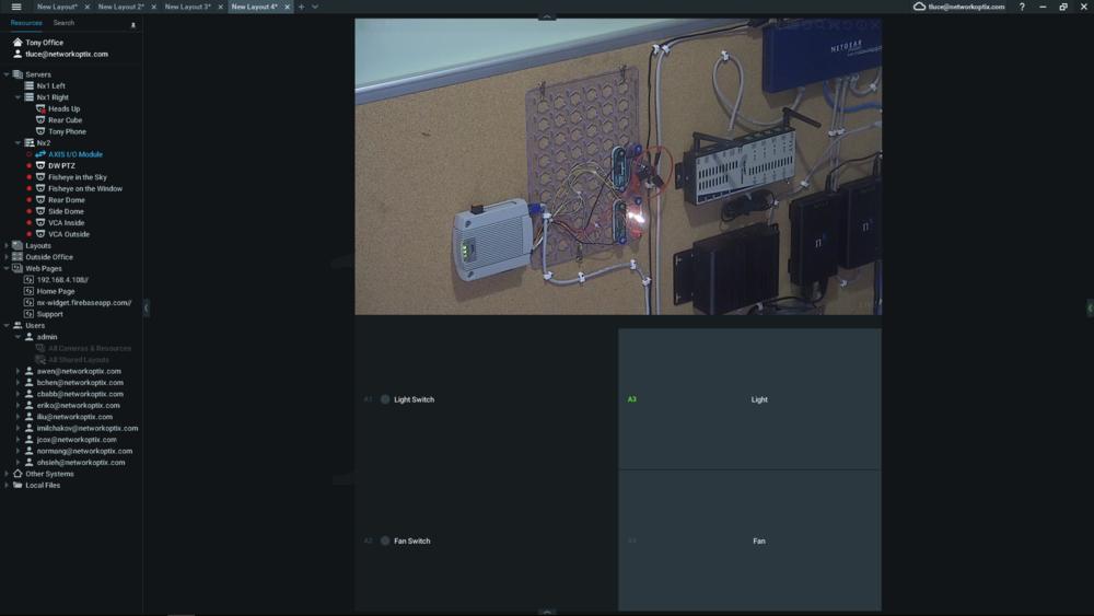 Nx Desktop - I/O Module Control