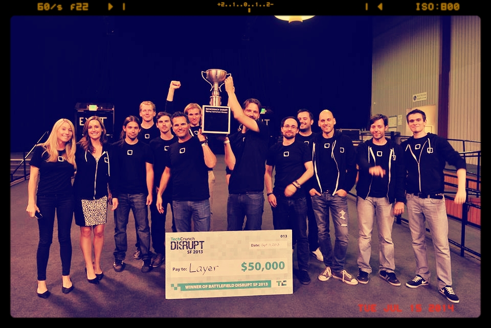 Layer team wins TechCrunch Disrupt