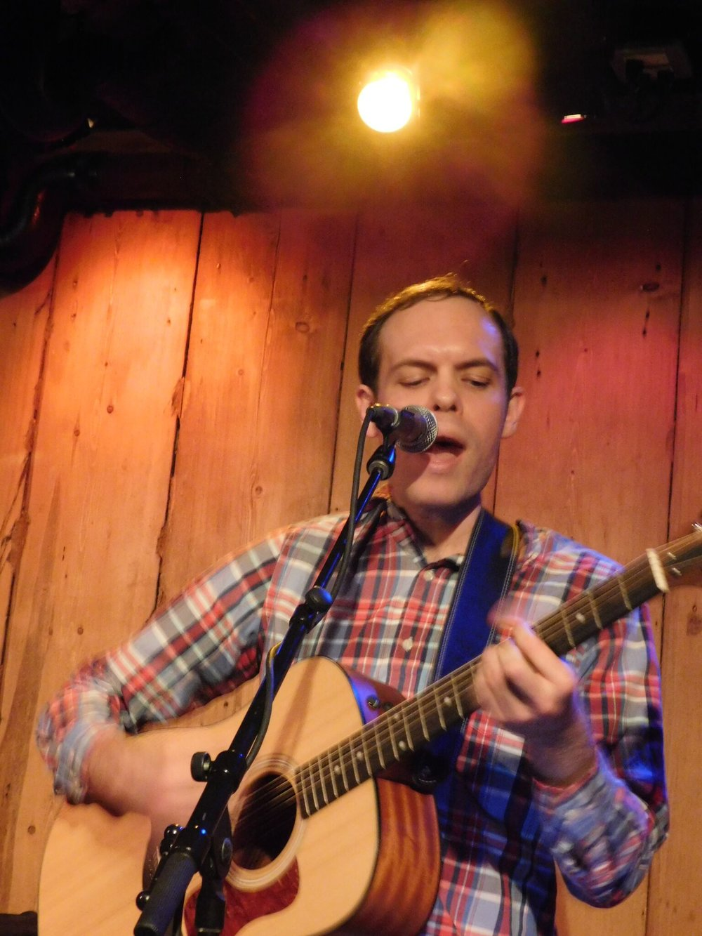 Allen at Rockwood Music Hall