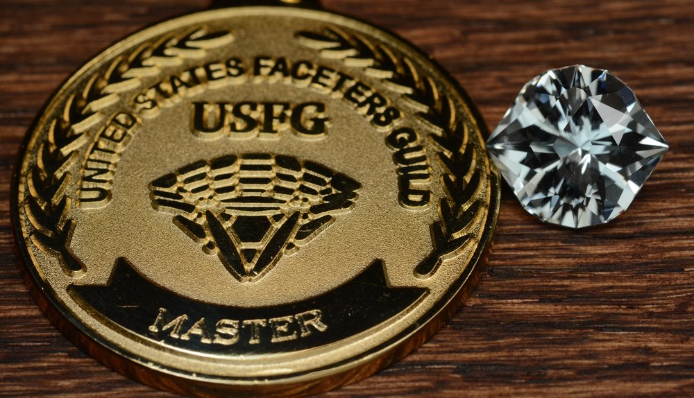 Taking gold in the Master category of the 2015 United States Faceters Guild Single Stone Competition!