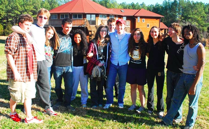 Teens on an iBme mindfulness retreat feel a strong sense of community.