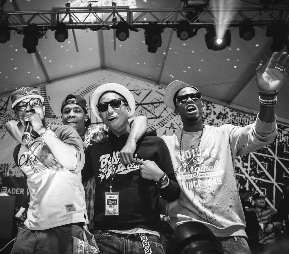 TI, Pharrell, B.o.B