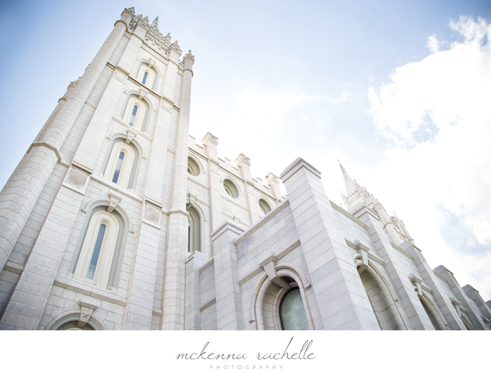 Boise Photographer McKenna Rachelle Photography Photographs Salt Lake City Temple