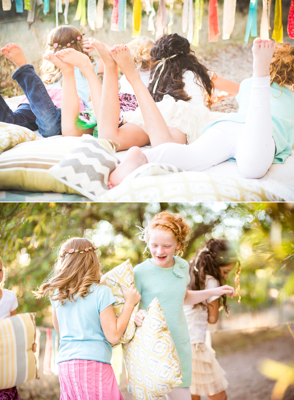 Birthday Party} Whimsical Children's Photography Session