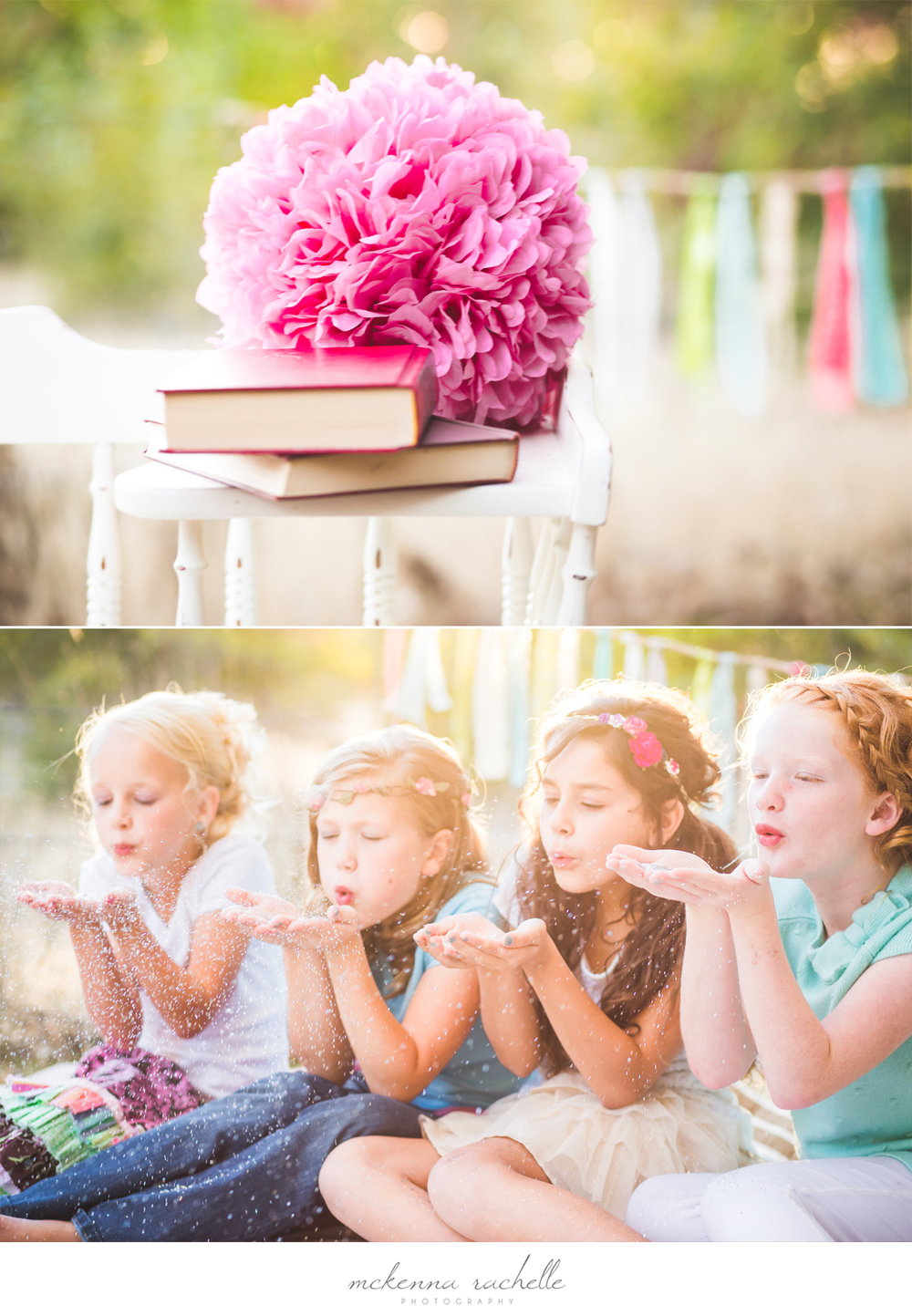 Boise Photographer McKenna Rachelle Photography Photographs Girls Birthday Party