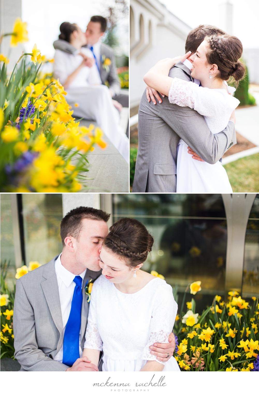 Idaho Photographer Photographs Boise Temple Wedding Couple