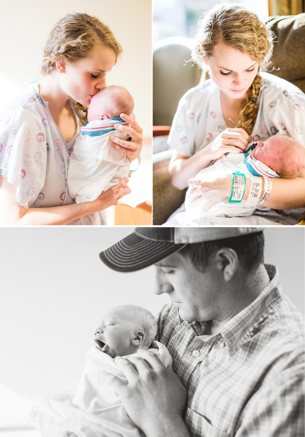 Boise Idaho Newborn Photographer Hospital