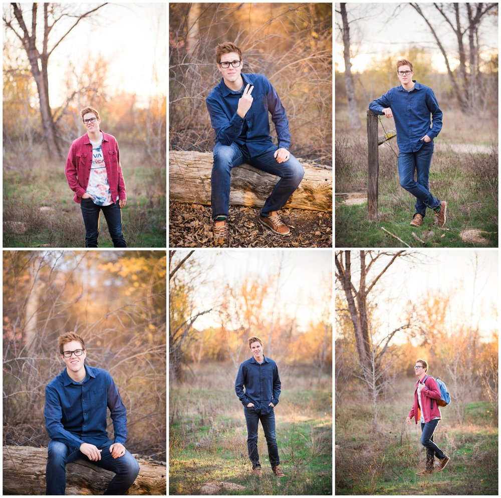 Portland high school senior photographer photographs in Boise, Idaho