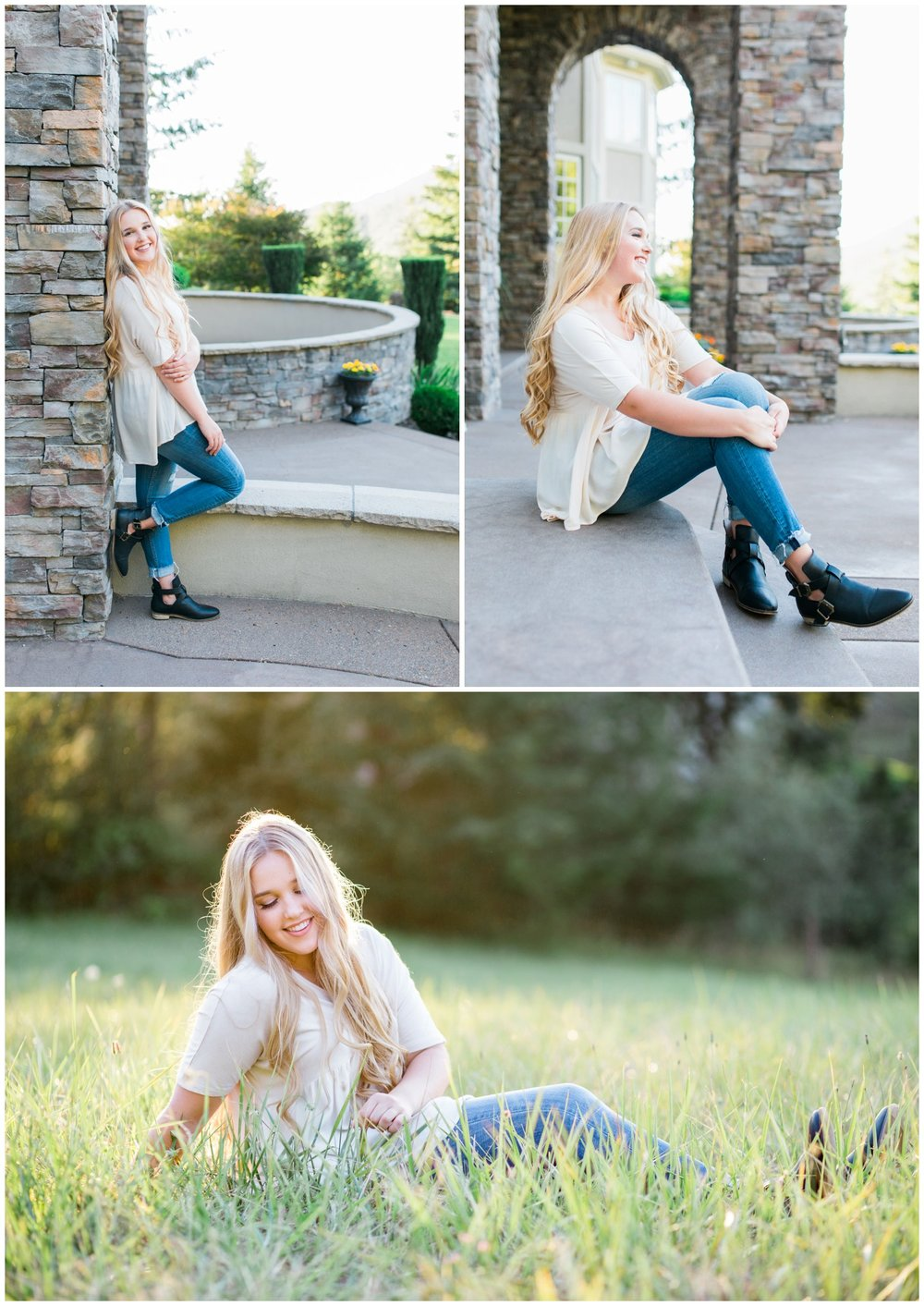 Portland senior photographer based out of Hillsboro, Oregon travels to Eugene to take senior portraits.