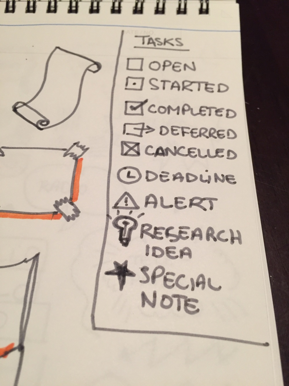 Note-taking annotations