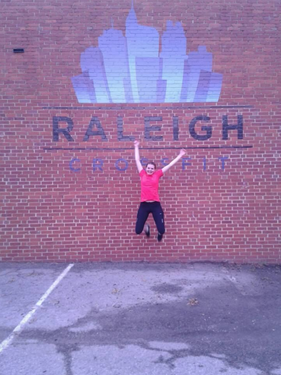 Finance and Accounting Major, Martina, enjoys working out with Raleigh CROSSFIT.