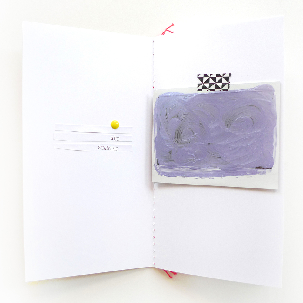 Analog Paper | Get Messy Art Journal | 002