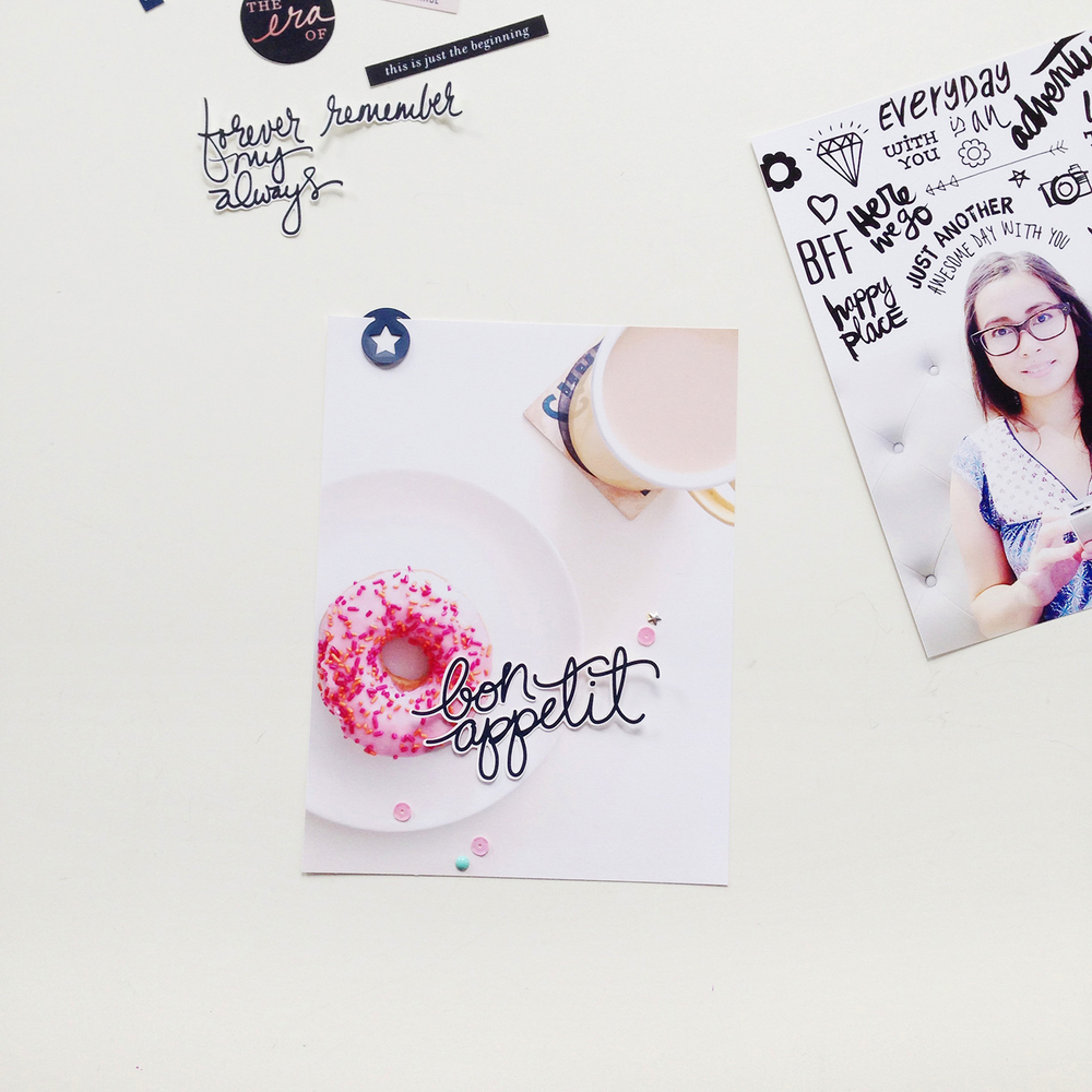 Analog Paper | Project Life | Adding Text on Photos | 002