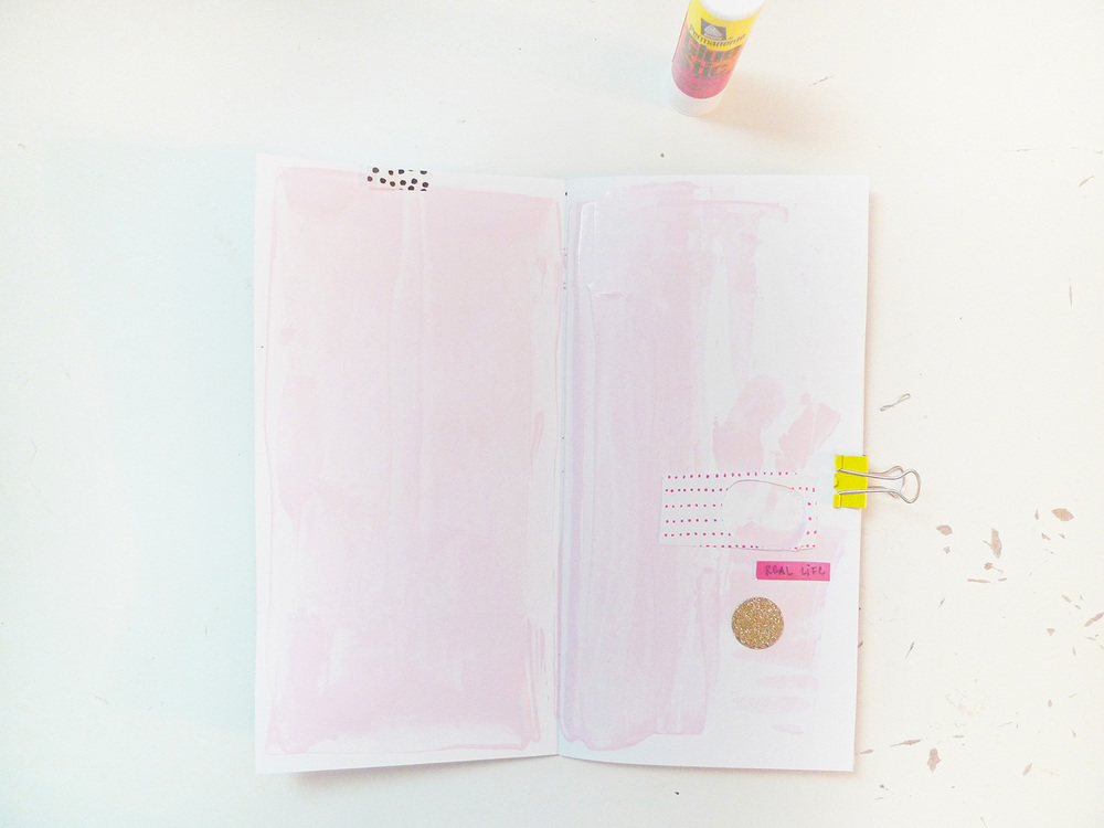 Analog Paper | Get Messy Art Journal | 018