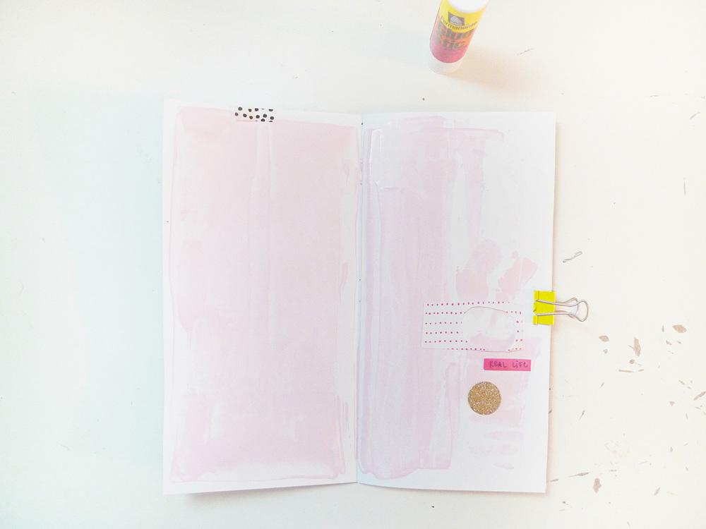 Analog Paper | Get Messy Art Journal | 018