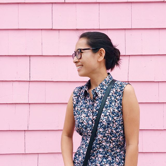 📷 by @re1000 because we can't walk by a house this gloriously pink without taking a photo  #analogpaperwitl  #memorykeeping #weekinthelife #weekinthelife2015 #witl #scrapbooking #VSCOcam #pink