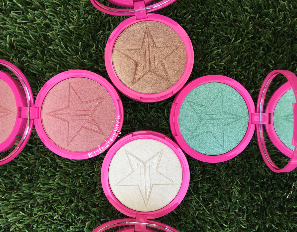 Jeffree Star Skin Frost Highlighters Review Amp Swatches