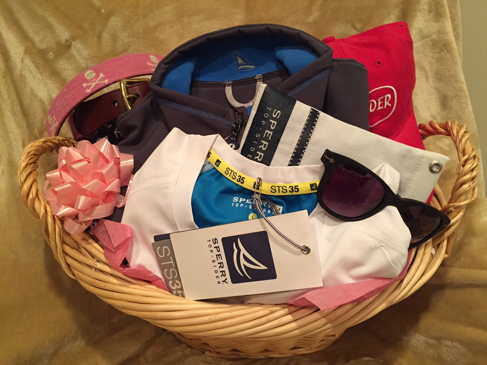 Women's Sperry basket....a $250 value!