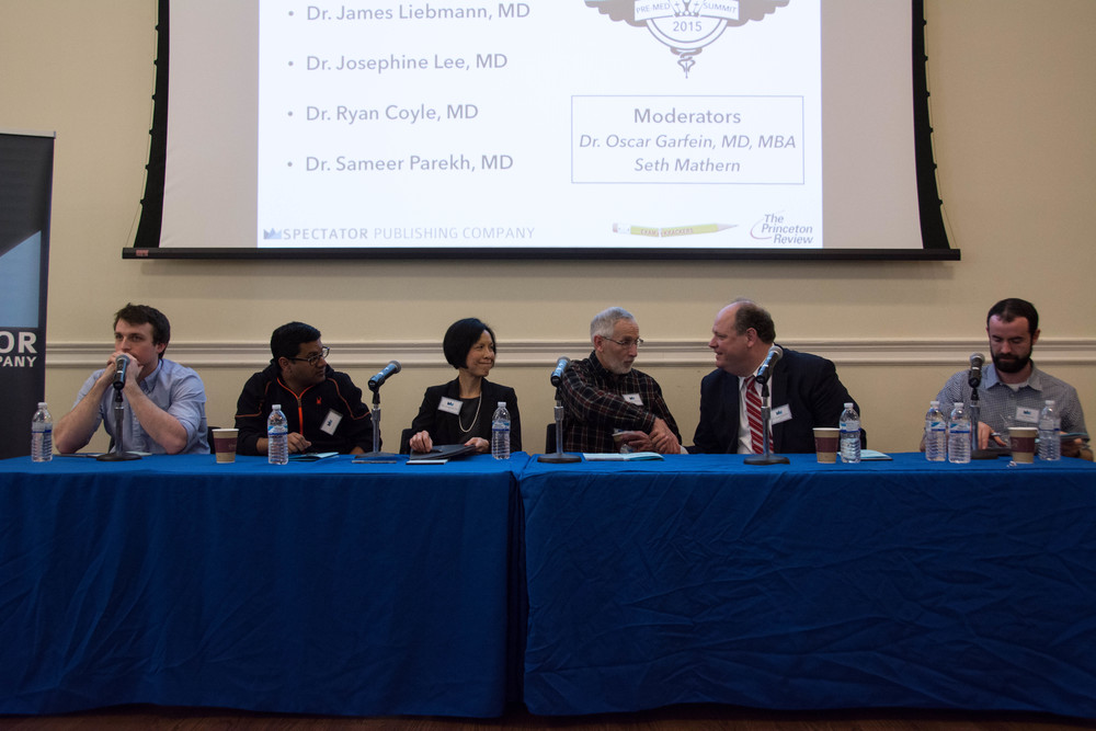 Leading doctors from around the east coast discuss the challenges and triumphs of their careers and what ultimately made them choose medicine at our Spring 2015 Pre-Med Summit.