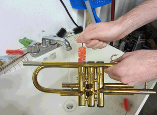 trumpetcleaning