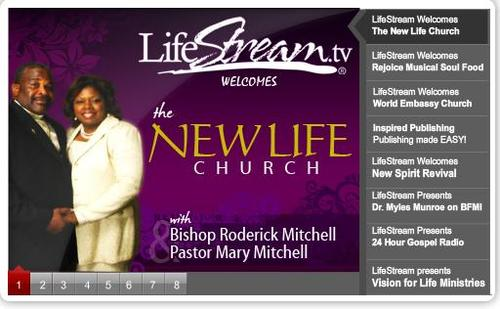 Click Photo or here for LifeStream.TV