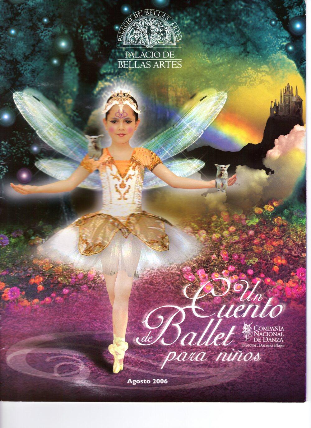 Un Cuento de Ballet Para Niños, Compañía Nacional de Danza