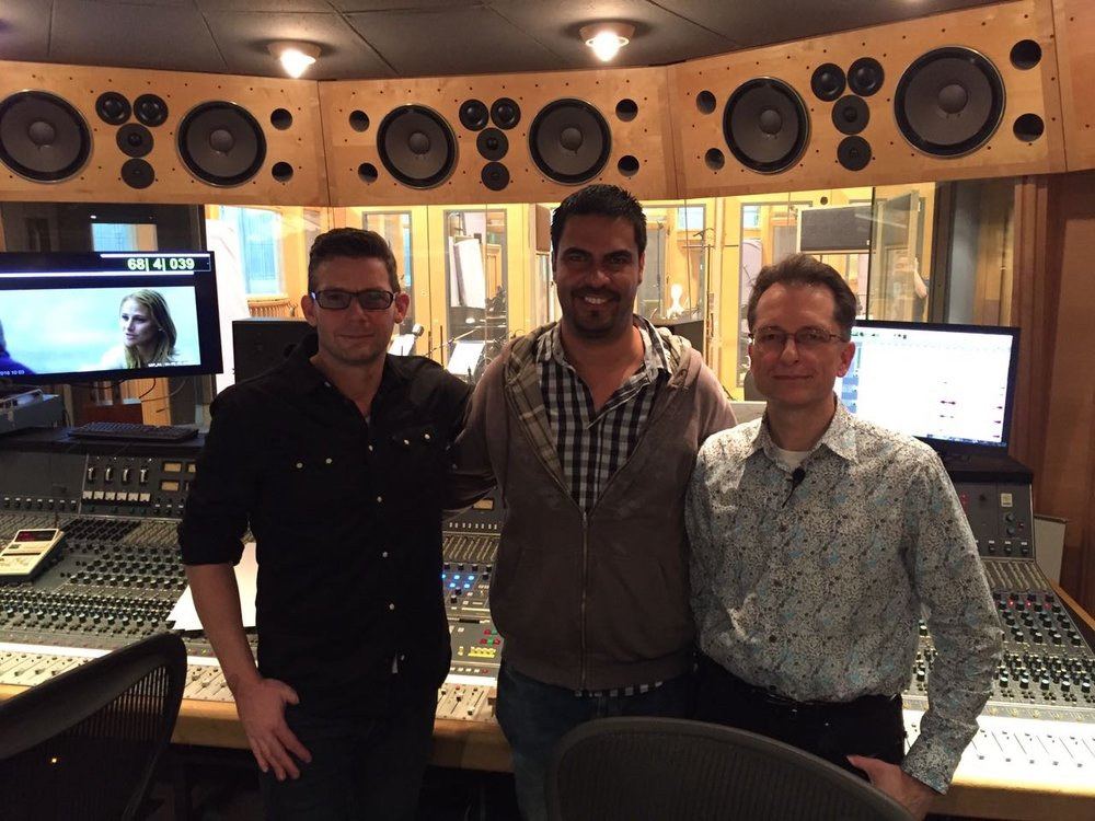 The score for the film LA GRAN PROMESA (2018, Beanca Films)  has been nominated for the Silver Goddess 2019! and it is the first Mexican film score produced in London. The score was recorded and mixed by Nick Wollage at Air Studios in London and it was conducted by Gavin Greenaway.