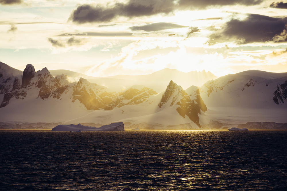 A gorgeous view of the Antarctic Peninsula as we were leaving Charlotte Bay, making our way to Orne Harbor for the night. The light, the landscapes, the wildlife in Antarctica was always changing, making it nearly impossible for me to peel myself away from the decks and the windows. I was often leaving early or arriving late for meals, skimping out on sleep, or missing lectures and programs to take it all in. Every moment was filled with amazing things to see.