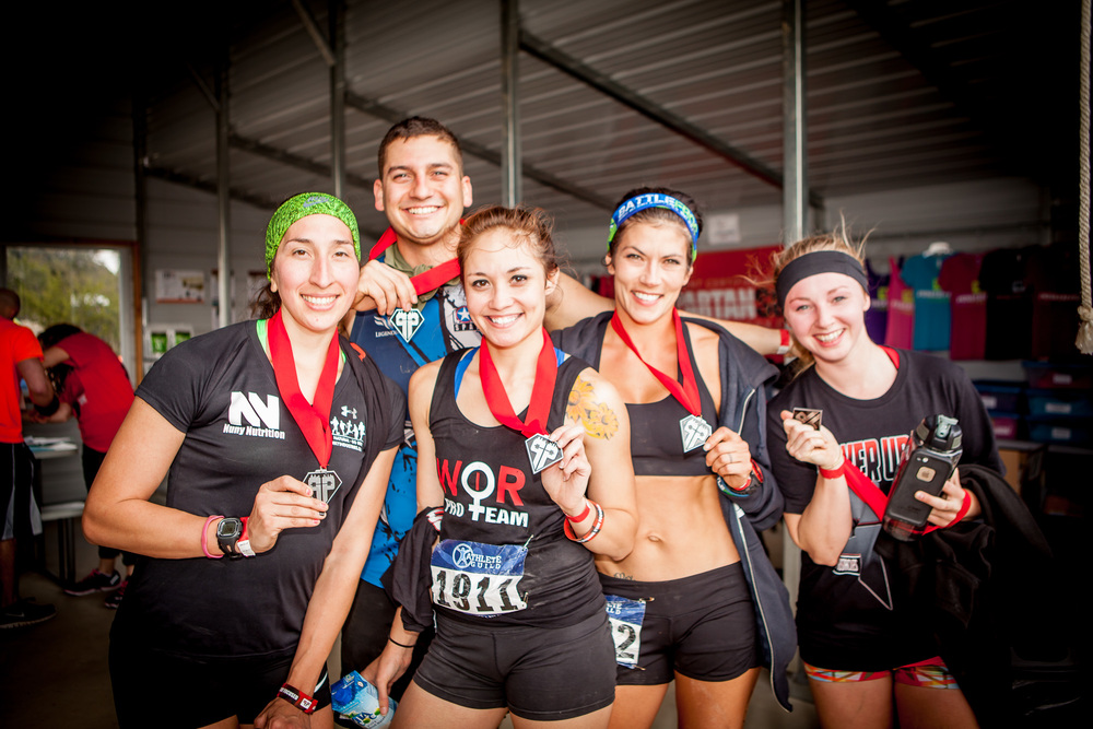 Winners from the 2015 Power-Up OCR.