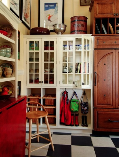 Storage in a kitchen