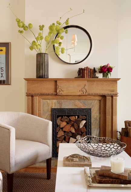 Fall is in the Air | Decorating your Fireplace — Tina Marie ...