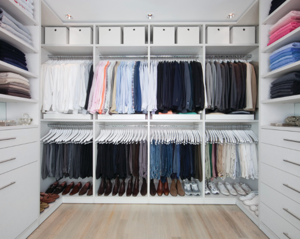 You Donu0027t Want To Add A Custom Built In To Your Closet Only To Realize That  You Donu0027t Have Enough Hanging Space For All Of Your Dress Shirts.