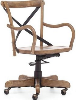 "OFFICE CHAIR  $175  W-19.29"" D-17.13"" H-34.60"""