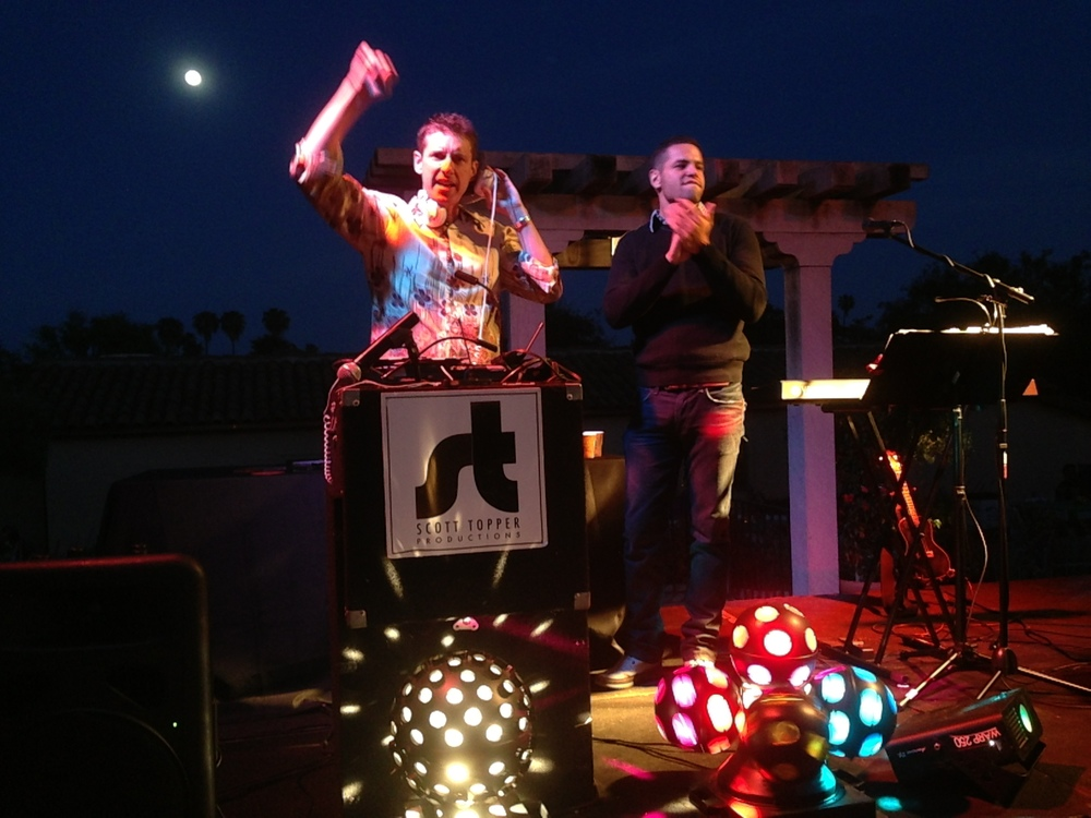 Santa Barbara Wedding DJs Event Lighting : Party lights and entertainment
