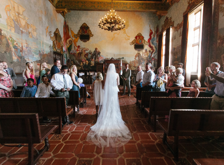Santa Barbara Courthouse Wedding DJs