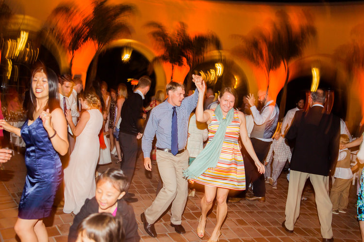 Santa Barbara Wedding DJs: Dance Party