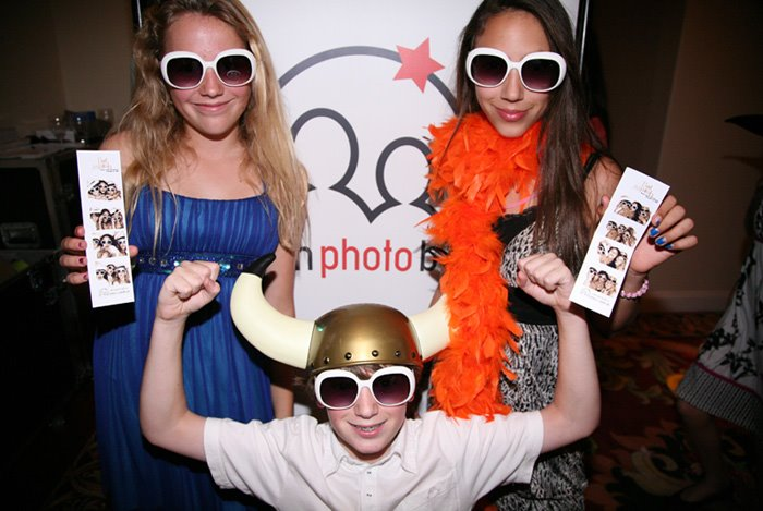 Santa Barbara Wedding DJs: Photo booth rentals