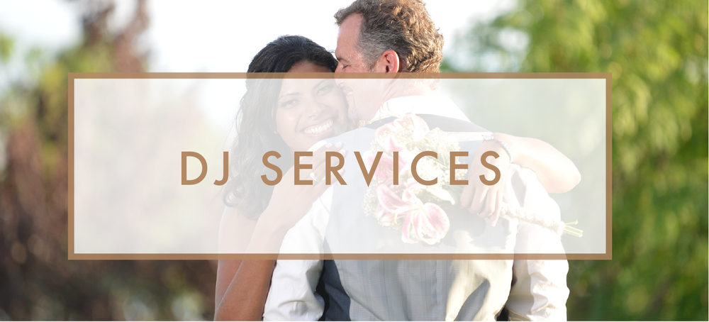 Santa Barbara Wedding DJs: DJ Services