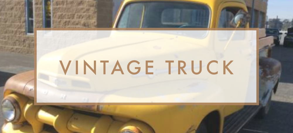 Santa Barbara Wedding DJs: Vintage Truck Rental