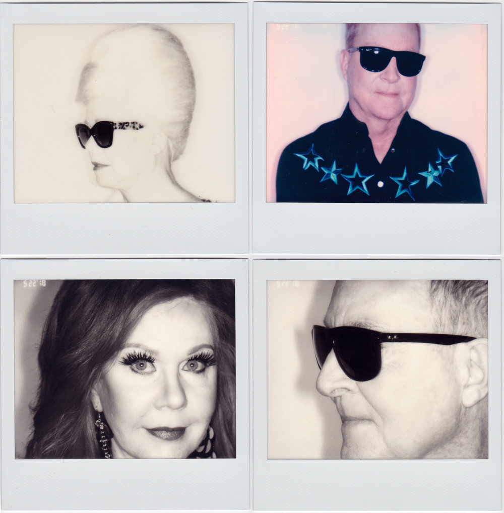 Promo photos for The B-52s