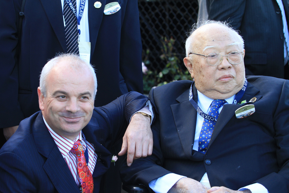 Dato' Tan Chin Nam and Duncan Ramage