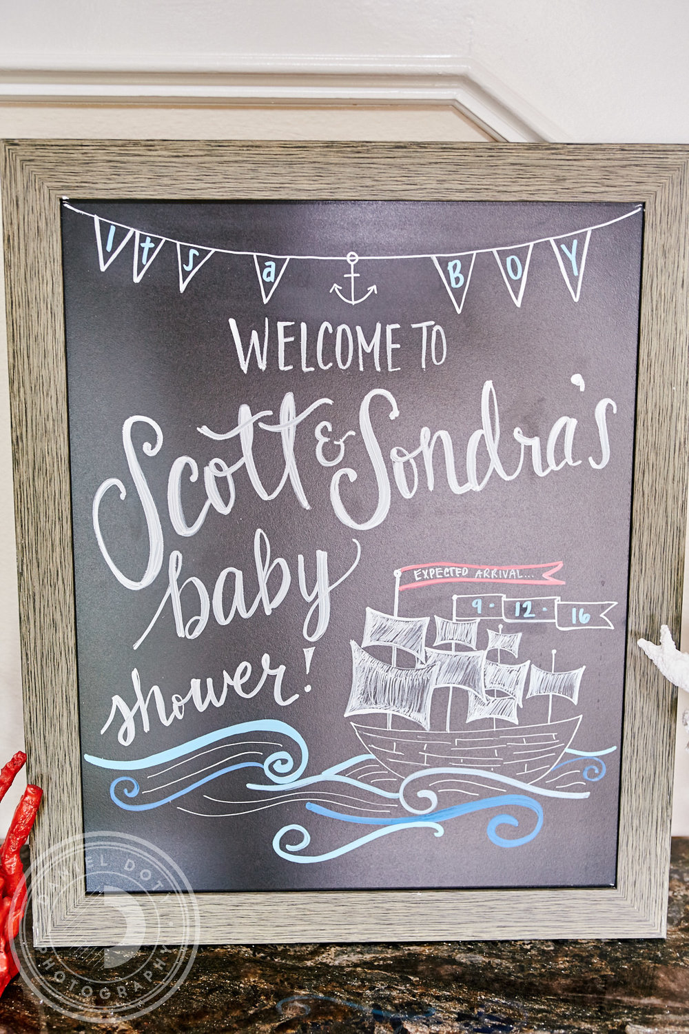 Sondra and Scott Baby Shower