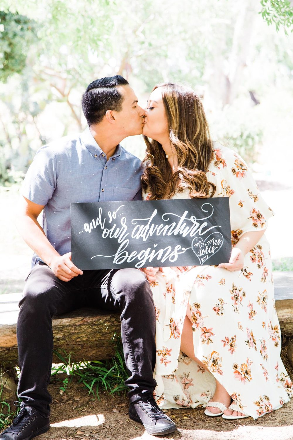 Wilderness Park in Redondo Beach Engagement Photography Session from South Bay family and wedding portrait photography business Daniel Doty Photography.