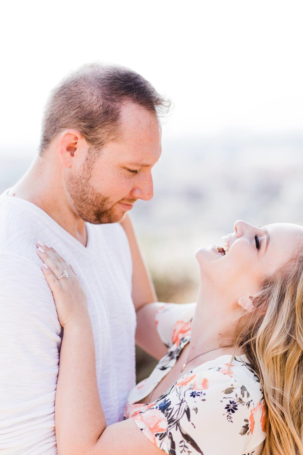 Loyola Marymount University in Los Angeles Engagement Photography Session from South Bay family and wedding portrait photography business Daniel Doty Photography.