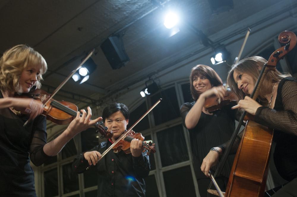 Shane Chen, violin   Nicholas Waters, violin   Helen Ireland, viola   Zoe Knighton, cello