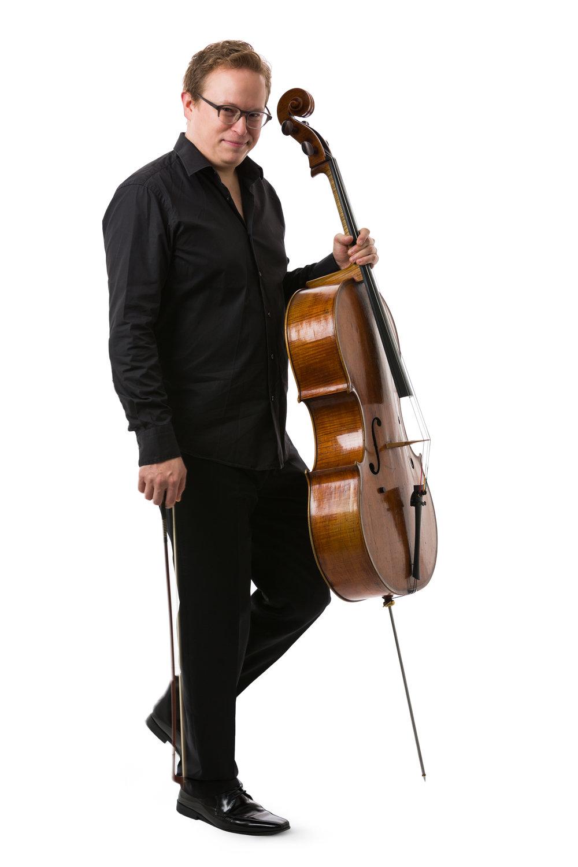 Timo-Veikko ('Tipi') Valve, Principal Cellist of Australian Chamber Orchestra
