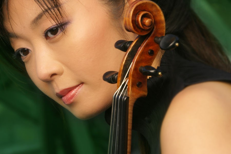 Miki Tsunoda, guest violinist