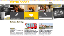 Cityblogger  Get regular updates on sights, events & locations